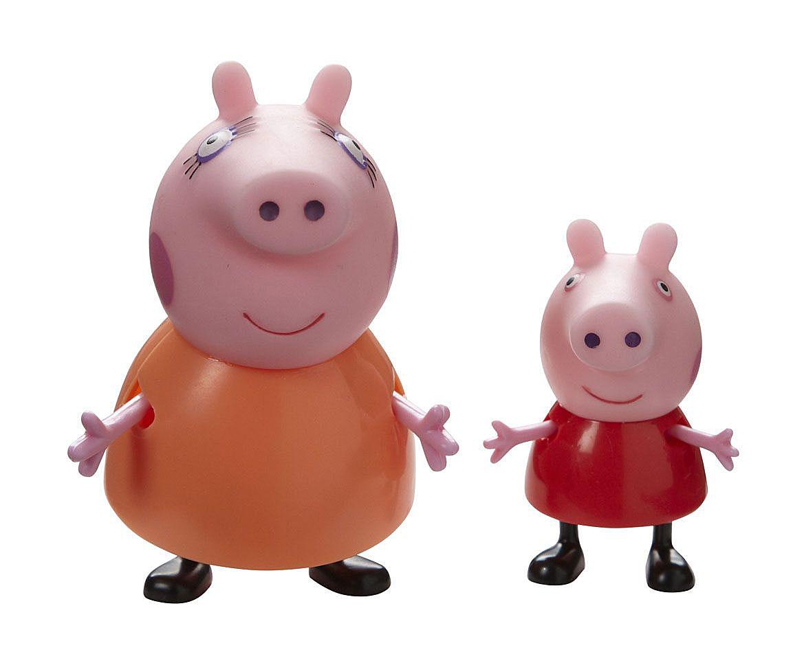 Игровой набор Peppa Pig Семья Пеппы: мама, дочка игровой набор семья пеппы peppa pig игровой набор семья пеппы