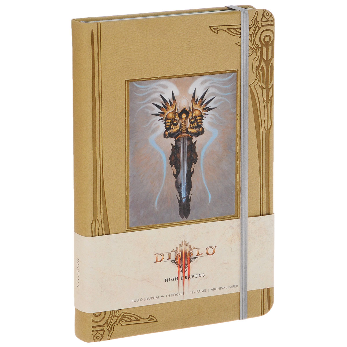 Diablo High Heavens: Ruled Journal diablo sword of justice