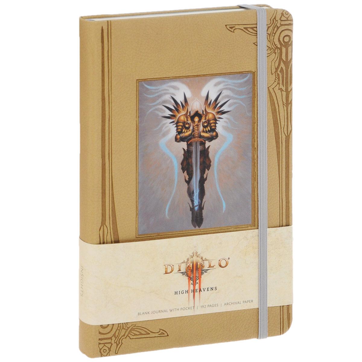 Diablo High Heavens Blank Journal with Pocket