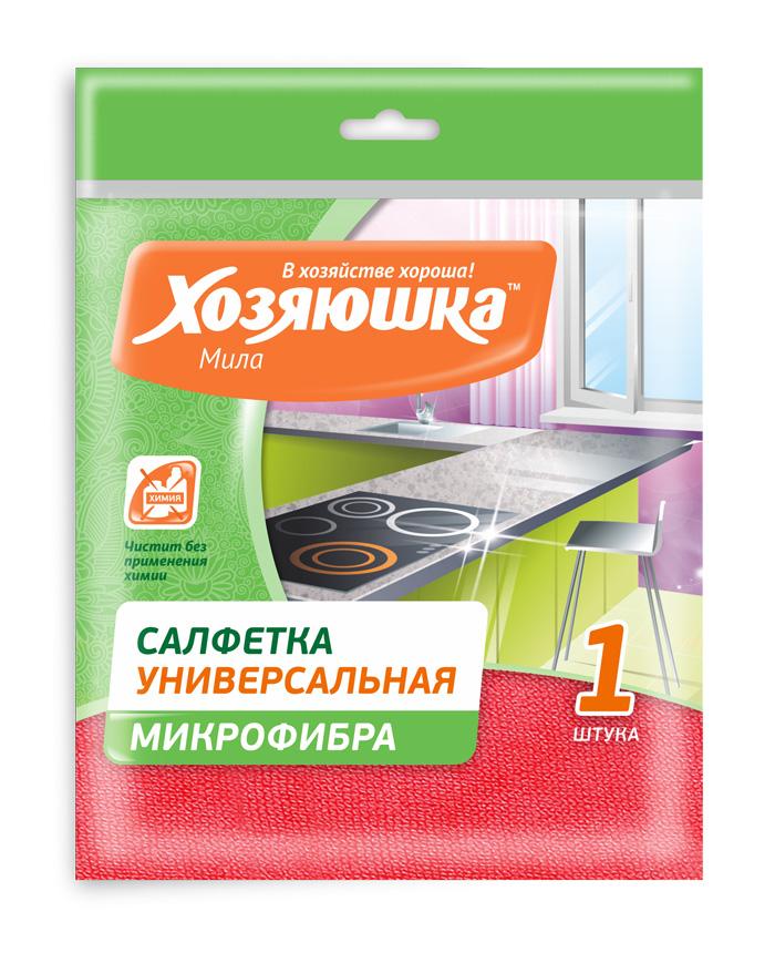 Салфетка универсальная Хозяюшка Мила , 30 см х 30 см04006