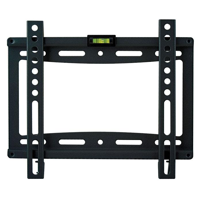 Kromax Ideal-5, Black настенный кронштейн для ТВ272434Фиксированный кронштейн Kromax Ideal-5 для LED/LCD и плазменных телевизоров с диагональю экрана от 15 до 47 дюймов (38-120 см) и максимальным весом 40 кг. Ультратонкое крепление позволит расположить ваш ТВ максимально близко к стене, всего в 20 мм. Простой монтаж, в три шага, а благодаря наличию водяного уровня вы с легкостью сможете повесить ТВ идеально ровно.