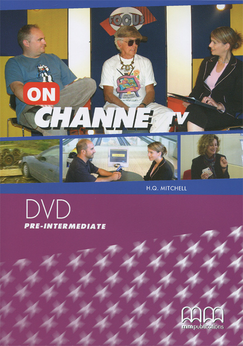 On Channel TV: Pre-Intermediate (видеокурс DVD) ekl vga to av rca or ypbpr composite tv converter adapter box