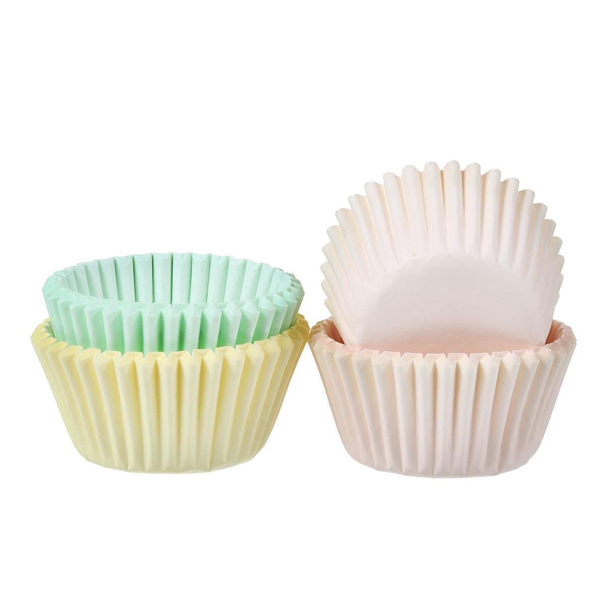 Набор бумажных мини-форм для кексов Wilton Пастель, диаметр 3,2 см, 100 штWLT-415-2123Бумажные формы Wilton Пастель используются для выпечки, украшения и упаковки кондитерских изделий, сервировки конфет, орешков, десертов. Края форм гофрированные. С такими формами вы всегда сможете порадовать своих близких оригинальной выпечкой.