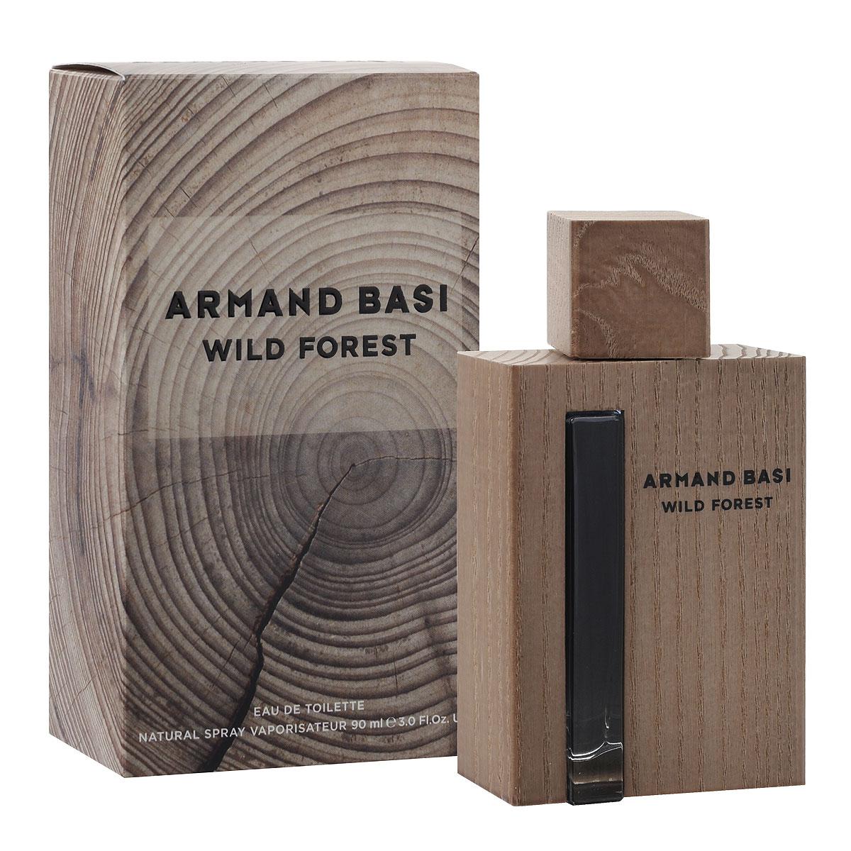 Armand Basi Туалетная вода Wild Forest, мужская, 90 мл48575Wild Forest - новый мужской аромат от Armand Basi, созданный благодаря вдохновению от самого благородного элемента: дерева. Природа прекрасна и непредсказуема. Она несет в себе жизнь. И дерево лучшее доказательство этого ее качества. Мужчина Armand Basi обладает естественной элегантностью, которая проявляется через его отношения с природой. Он прекрасно знает, что все природное безупречно по определению и видит воплощение этой природной, натуральной и несовершенной красоты в дереве.В мире стрессов Wild Forest - его островок, место, где мужчина может обрести себя и освободить свою настоящую, дикую сторону личности. Это может быть лес, это может быть комната, но в первую очередь это место находится в его сознании. Личный теплый, персональный оазис.Неправильная форма дерева, рисунок его внутренних колец, проявляющийся с годами, цвет, вызванный воздействием света, текстура, меняющаяся под воздействием климатических условий, трещины на его поверхности, - все это вместе создает характер благородного материала, также как жизнь дает спонтанный характер молодым людям, и спокойный - пожилым. Wild Forest создан для мужчины без возраста, который, как и дерево, извлекает лучшее из каждой стадии своего взросления.Древесина - материал многогранный и пластичный, легко адаптируемый к современной жизни в большом городе и используемый ежедневно и повсеместно. Таким образом, превращенная в современный объект, она являет собой связь между городом и природой. Древесина, благодаря своему благородному происхождению, объединяет традиции и качество. Это теплый и современный материал, элегантный, прекрасный и вечный. Armand Basi Wild Forest - это одновременно классический, и современный Аромат, такой же, как и мода от Armand Basi. Аромат, который переносит Вас из города в лес.От природы до шума большого города. Сила и мощь благородного дерева - праздник несовершенной красоты Природы и аутентичности всего естественного.Элегантный и сде