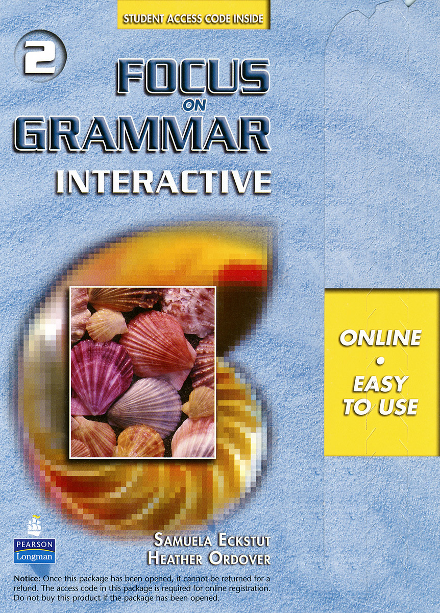 Focus on Grammar Interactive 2 understanding and using english grammar interactive student access code