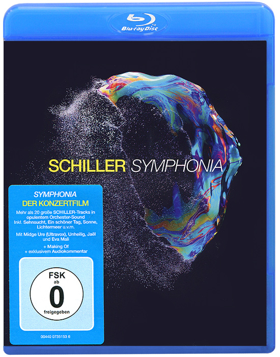 Schiller. Symphonia (Blu-ray) the berlin concert domingo netrebko villazon blu ray