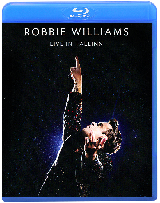 Robbie Williams. Live In Tallinn (Blu-ray) toto tour live in poland 35th anniversary blu ray