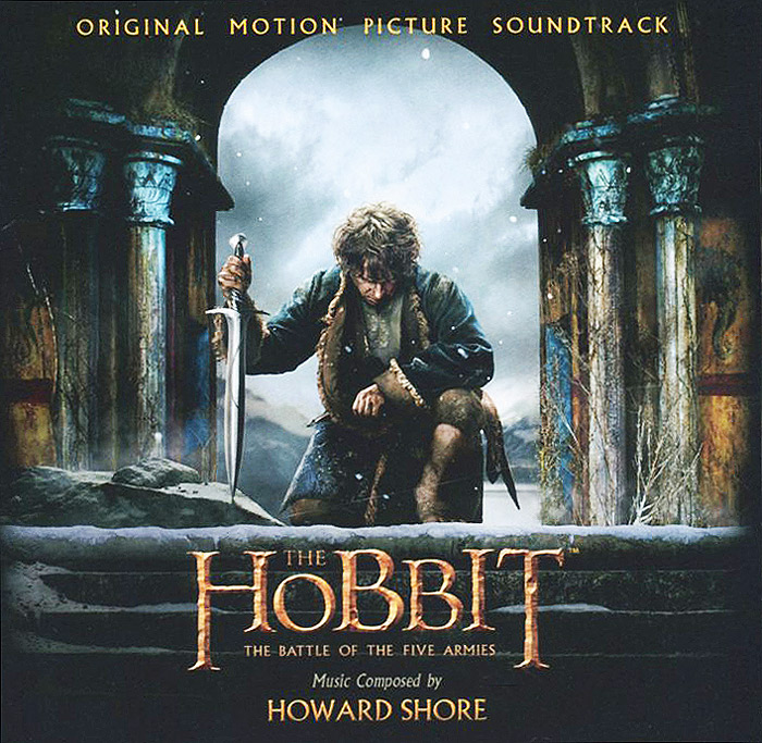 The Hobbit. The Battle Of The Five Armies. Original Montion Picture Soundtrack (2 CD) the hobbit the battle of the five armies chronicles the art of war