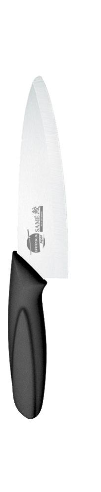 Нож для фруктов и овощей Supra, керамический, цвет: черный, длина лезвия 10,8 смSK-KS10P blackНож керамический Supra изготовлен из высококачественной циркониевой керамики (диоксида циркония). Кристаллическая структура не требует заточки. Керамический нож не оставляет послевкусия, не вступает с продуктами в химическую реакцию и не придает продуктам металлический привкус. Рукоятка изготовлена из ABS-пластика с внешним покрытием SOFT TOUCH (силикон), что предотвращает выскальзывание ножа из рук. К ножу не прилипают продукты. Керамический нож Supra легок в уходе и удобен в использовании. Керамический нож идеально подходят для чистки фруктов и овощей.Керамический нож Supra будет незаменимым помощником на вашей кухне. Длина ножа: 20,5 см. Длина лезвия: 10,8 см.Ширина лезвия: 3 см.