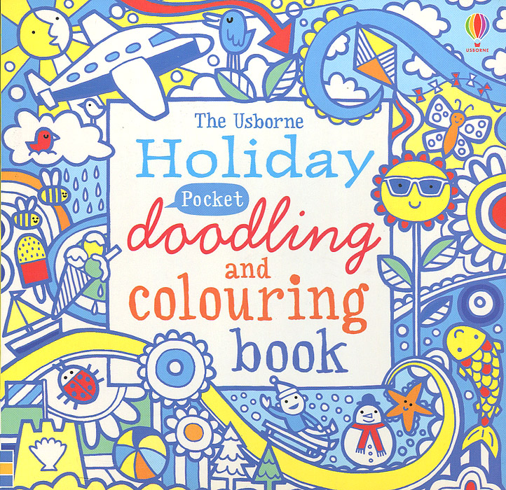 Pocket Doodling and Colouring Book: Holiday die hard the official colouring book