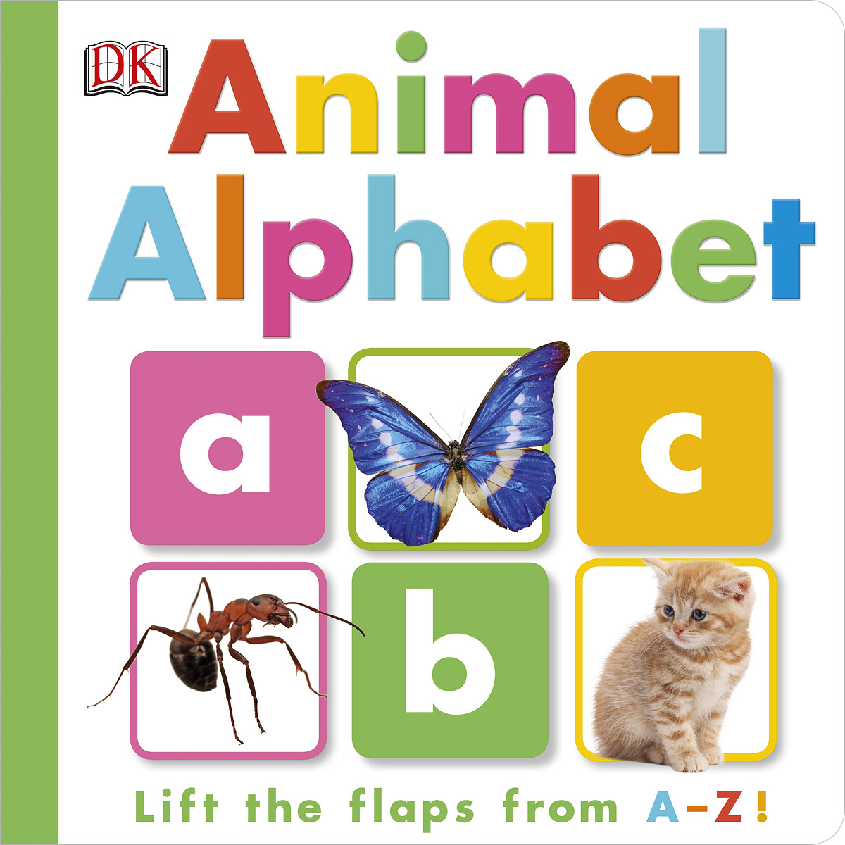 Animal Alphabet lift the flap word book baby board books learning and educational picture story books stereo book learning word wholesale
