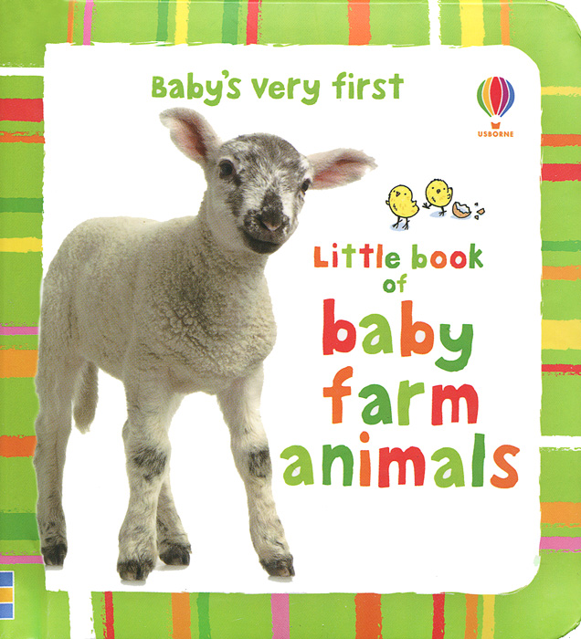 Baby's Very First Little Book of Baby Farm Animals maisy s farm sticker book