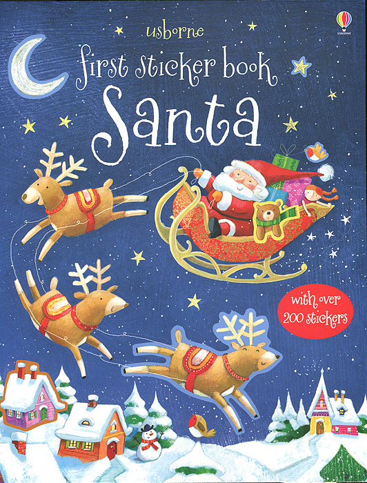 First Sticker Book: Santa купальник because of love 1895
