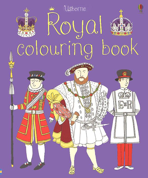 Royal Colouring Book dumas alexandre the royal life guard or the flight of the royal family