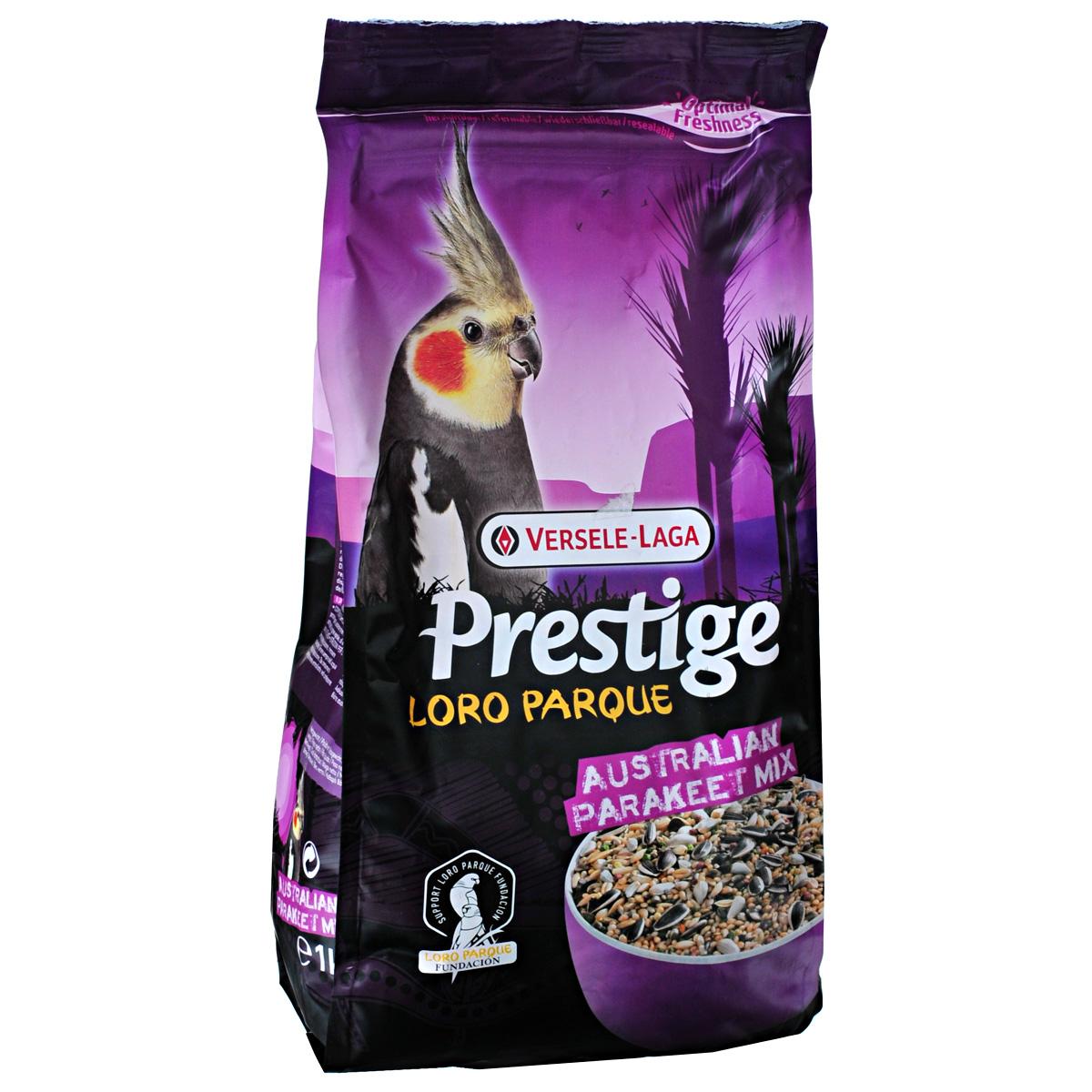 Корм для средних австралийских попугаев Versele-Laga Australian Parakeet, 1 кг triol корм для мелких и средних попугаев с мёдом
