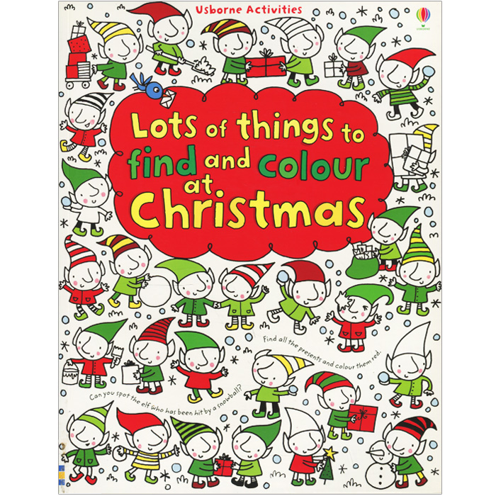 Lots of Things to Find and Colour: At Christmas 50 things to spot in london набор из 52 карточек