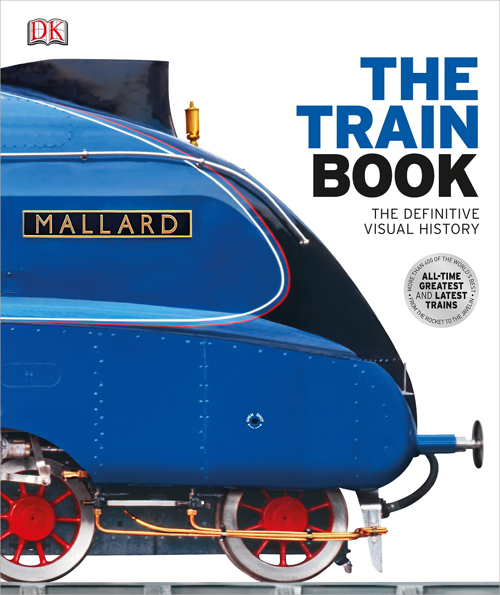 The Train Book: The Definitive Visual History 3d dynamic models of a railway track for high speed trains