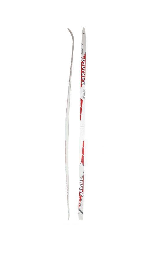 Беговые лыжи Karjala Sprint Step 2012 , цвет: красный, рост 186 см лыжи беговые tisa sport step с креплением цвет белый серый черный рост 190 см