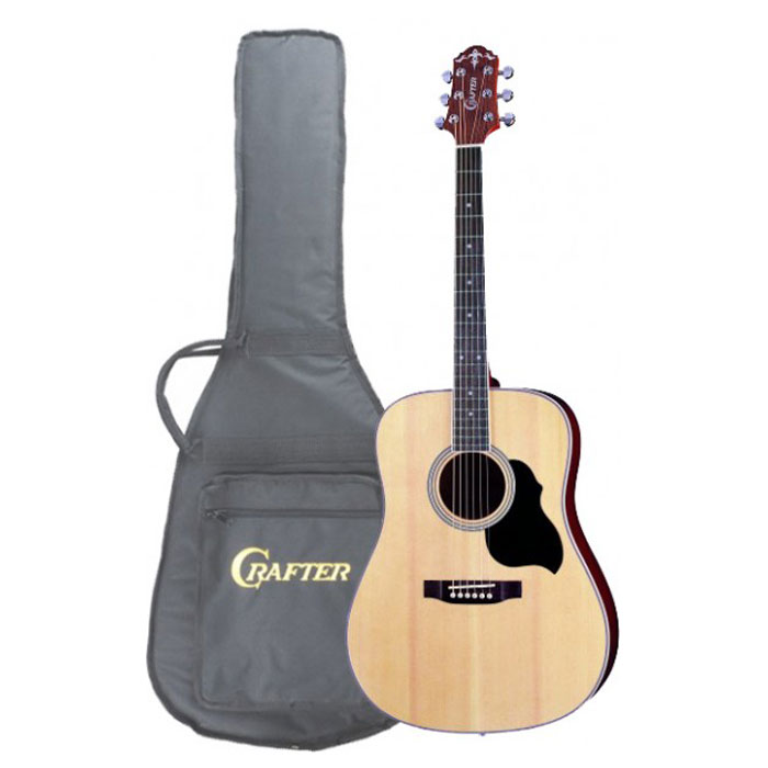 Crafter MD-40/N акустическая гитара + чехол дредноут takamine ef341sc