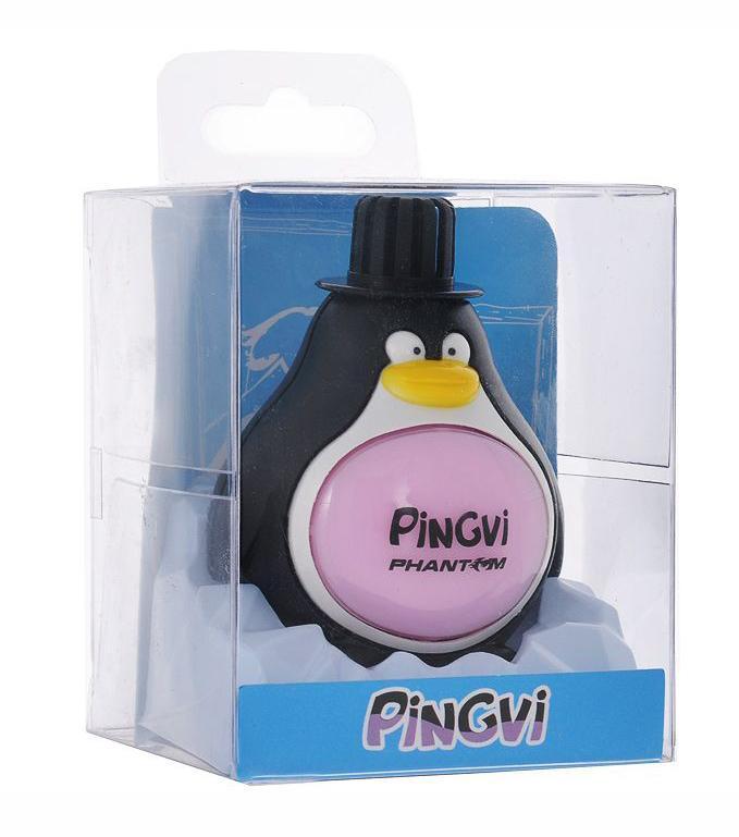 Ароматизатор PinGvi Орхидея, 45 млPH3183Ароматизатор Pingvi предназначен для придания приятного запаха орхидеи воздуху в вашем доме, машине, офисе. Стойкий аромат до 50 дней. Ароматизатор выполнен в виде пингвина.Инструкция по применению:1. Снимите внешнюю крышку и удалите внутреннюю крышку.2. Плотно закрепите внешнюю крышку на теле ароматизатора.3. Закрепите ароматизатор на любой чистой, плоской, сухой поверхности, используя клейкую основу.Внимание! Храните продукт в местах, недоступных для детей и домашних животных. Избегайте контакта с глазами. Не употреблять в пищу. Характеристики:Материал: пластик, ароматическая отдушка. Размер упаковки: 7 см х 7 см х 9 см. Цвет: черный, белый. Артикул: PH3183.