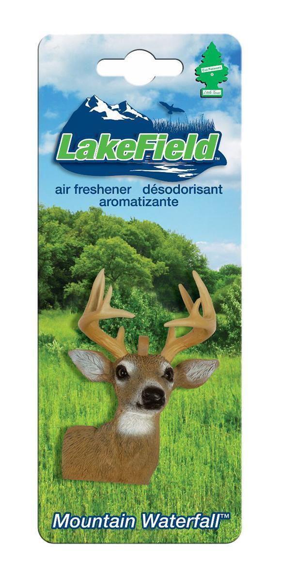 Ароматизатор Car-Freshner LakeField ОленьCTK-50921-24Оригинальный ароматизатор Car-Freshner выполнен в виде головы оленя. Он эффективно нейтрализует посторонние запахи и наполняет воздух приятными свежим ароматом. Подвесьте ароматизатор за шнурок в любом удобном месте - в салоне автомобиля, дома или в офисе - и получайте удовольствие!Характеристики: Размер ароматизатора:6 см x 4 см x 2 см.Производитель:США.Изготовитель:Китай.Размер упаковки:19 см х 7,5 см х 3 см.Артикул:CTK-50921-24.