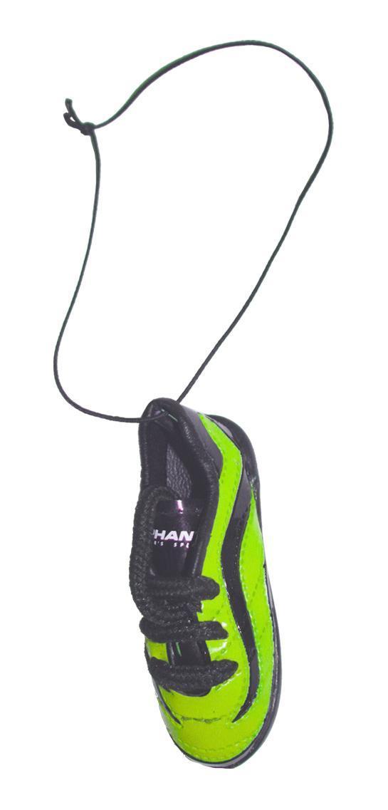 Ароматизатор Phantom Бутсы футбольные, морской бриз3168Еще один продукт для футбольных болельщиков - яркие бутсы! Сшиты как настоящая обувь спортсмена, прошивки, шнурки - уменьшенная копия реальных бутс. Наполнены ароматическим волокном, позволяющим удерживать запах в течение длительного времени. Характеристики: Аромат: морской бриз. Материал: искусственная кожа, отдушка, полипропилен. Размер ароматизатора: 7,5 см х 2,5 см х 3 см. Размер упаковки: 10 см х 19 см х 4 см.