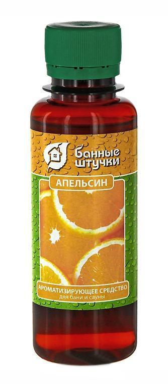 Ароматизирующее средство для бани и сауны Апельсин, 100 мл ароматизатор для бани и сауны бодрость 100 мл