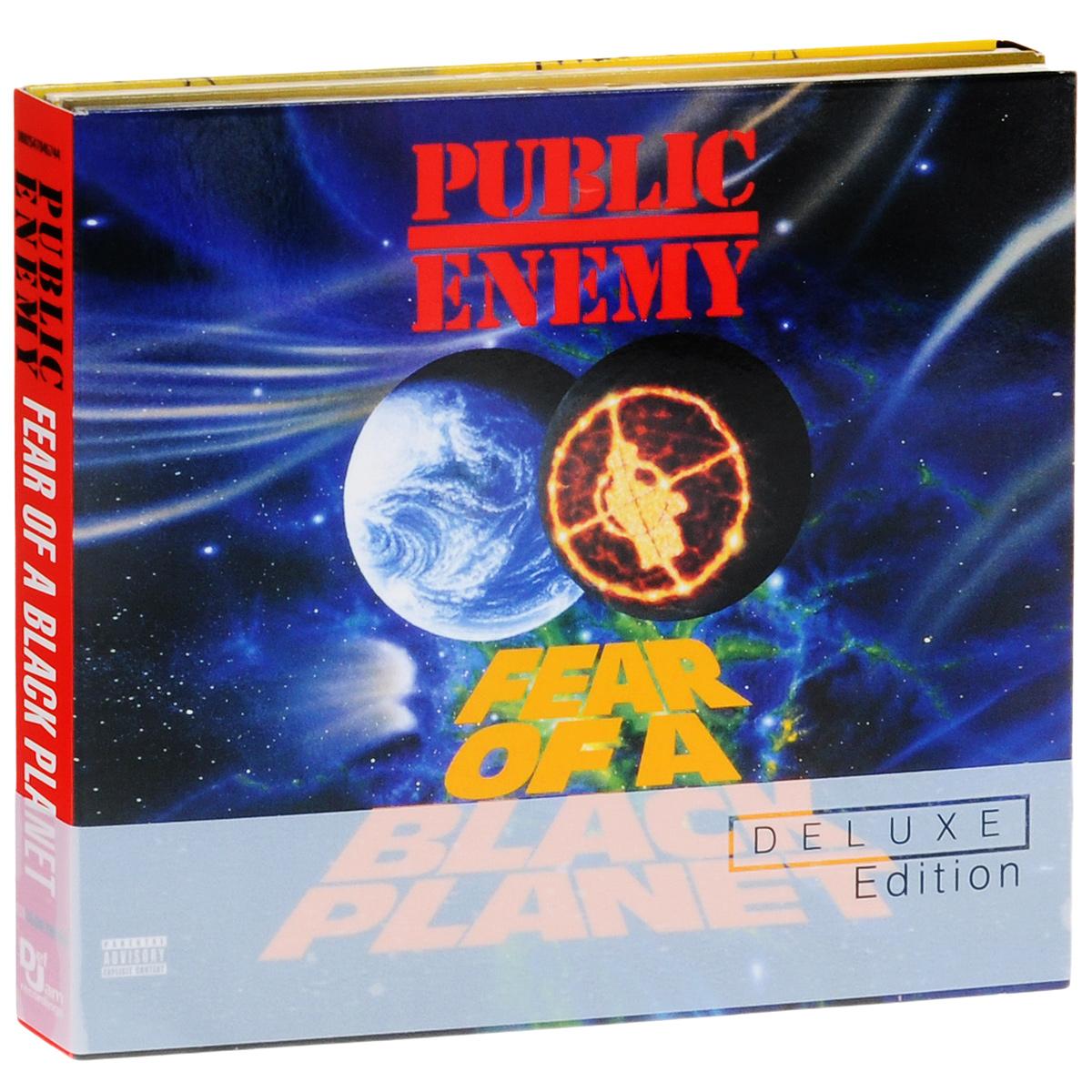 Public Enemy Public Enemy. Fear Of A Black Planet. Deluxe Edition (2 CD) public enemy public enemy live from metropolis studios limited edition 2 cd 2 lp blu ray