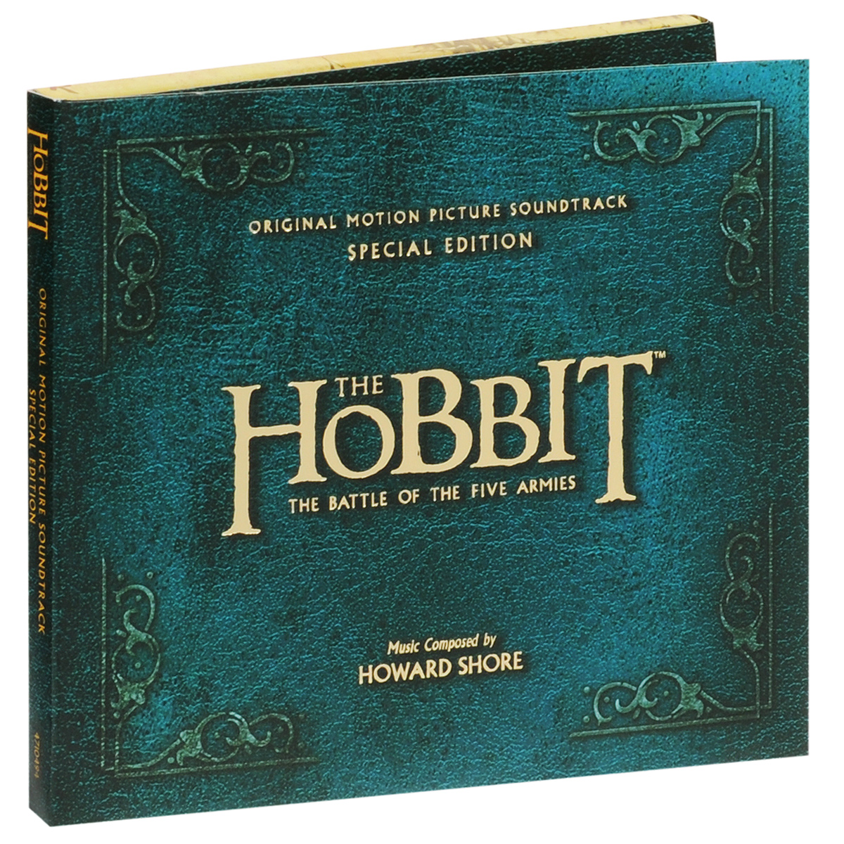 The Hobbit. The Battle Of The Five Armies. Original Montion Picture Soundtrack. Special Edition (2 CD) the hobbit the battle of the five armies chronicles the art of war