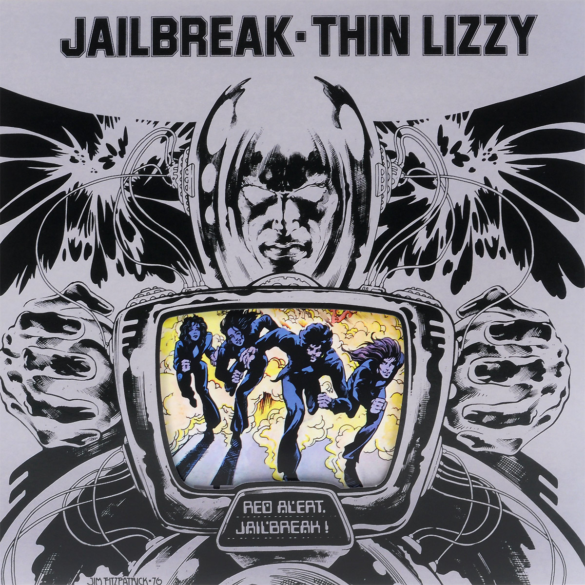 Thin Lizzy Thin Lizzy. Jailbreak (LP) виниловая пластинка thin lizzy johnny the fox limited black to black