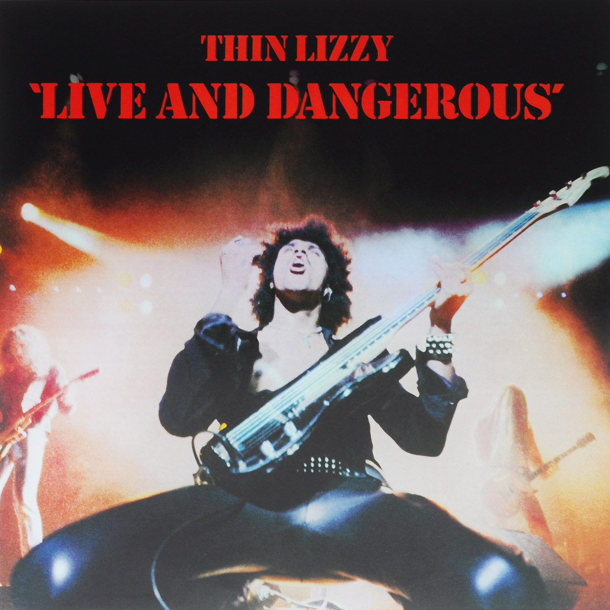 Thin Lizzy Thin Lizzy. Live And Dangerous (2 LP) thin lizzy thin lizzy jailbreak deluxe expanded edition 2 cd