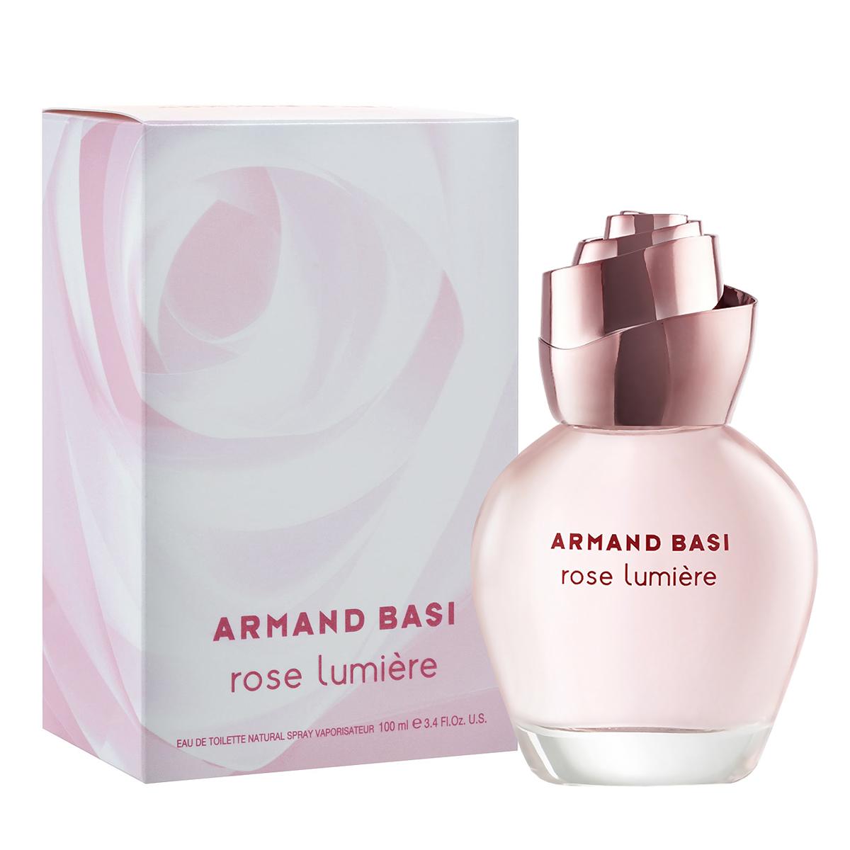 Armand Basi Туалетная вода Rose Lumier, женская, 100 мл armand basi туалетная вода rose glacee 100 ml