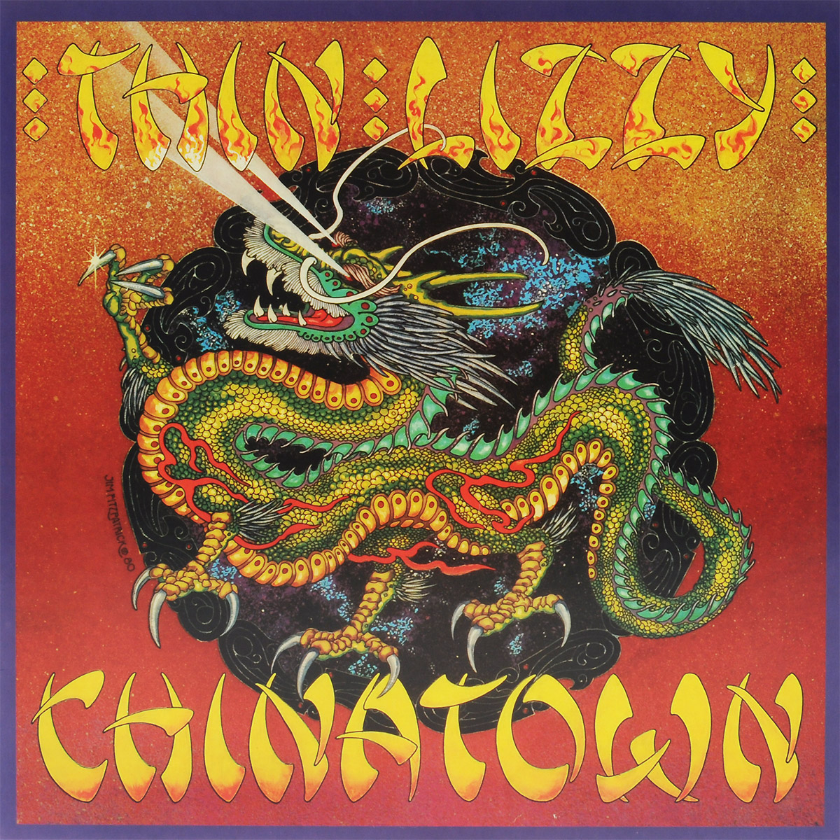 Thin Lizzy Thin Lizzy. Chinatown (LP) виниловая пластинка thin lizzy johnny the fox limited black to black