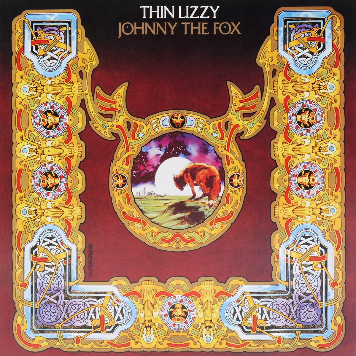 Thin Lizzy Thin Lizzy. Johnny The Fox (LP) thin lizzy thin lizzy chinatown lp