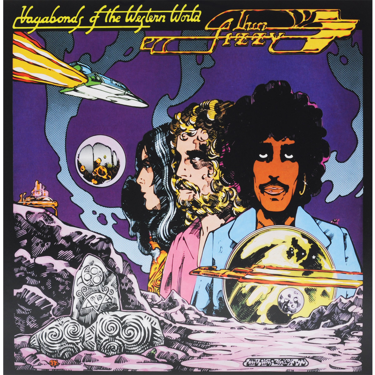 Thin Lizzy Thin Lizzy. Vagabonds Of The Western World (LP) mission survival 4 tracks of the tiger