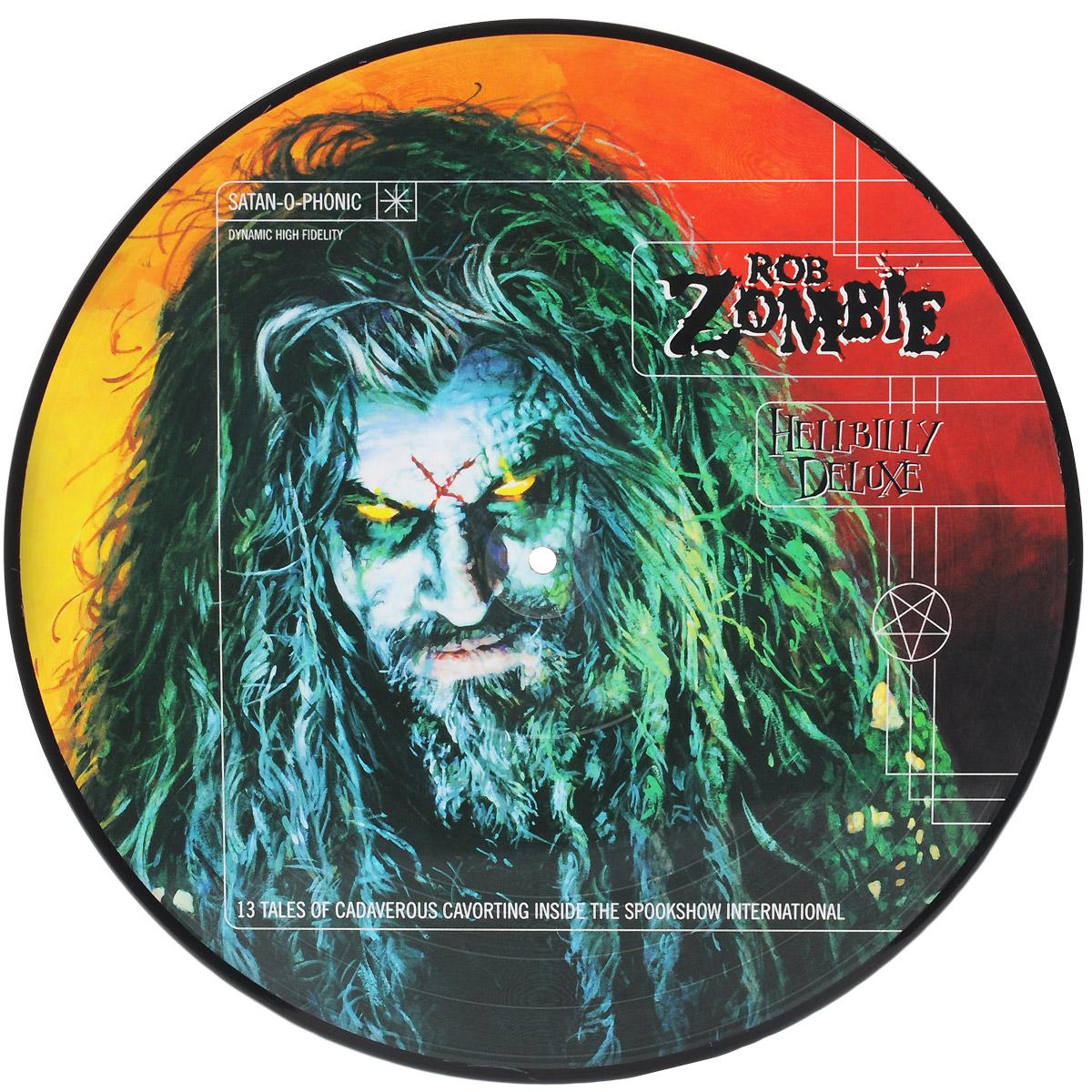 Роб Зомби Rob Zombie. Hellbilly Deluxe (LP)