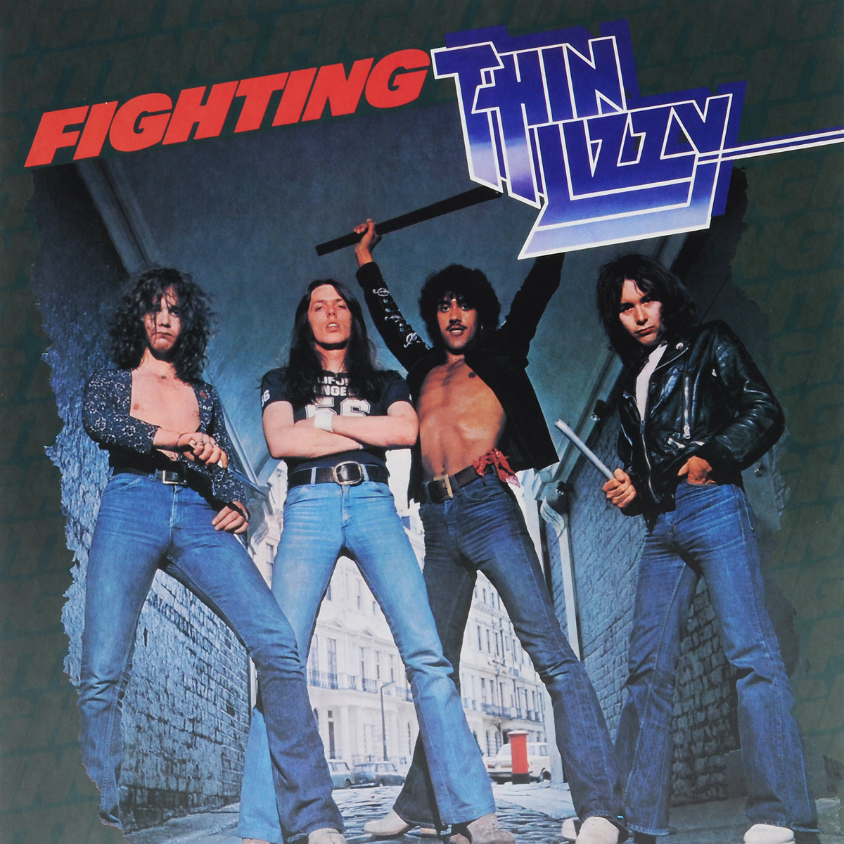 Thin Lizzy Thin Lizzy. Fighting (LP) виниловая пластинка thin lizzy johnny the fox limited black to black