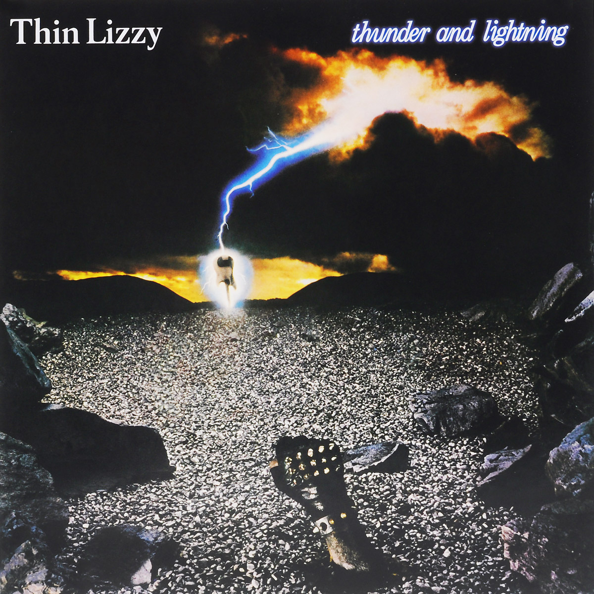 Thin Lizzy Thin Lizzy. Thunder And Lightning (LP) виниловая пластинка thin lizzy johnny the fox limited black to black