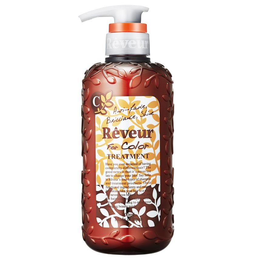 Reveur Кондиционер For Color, для окрашенных волос, 500 мл03333Кондиционер Reveur «For Color» создан на основе трех специальных природных компонентов для защиты цвета и 14 растительных экстрактов для восстановления повреждений окрашенных волос. Смягчающий компонент на основе коллагена делает волосы невероятно мягкими и послушными. Силикон, содержащийся в кондиционере, запечатывает полезные компоненты на ваших волосах до следующего мытья головы. Имеет свежий и утонченный аромат. Рекомендуется использовать вместе с шампунем Reveur «For Color».Рекомендуется для: – окрашенных или осветленных волос; – поврежденных волос; – защиты цвета после окрашивания. Товар сертифицирован.
