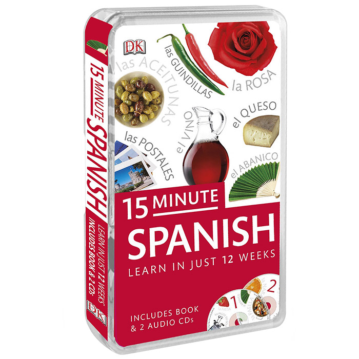 15-Minute Spanish (+ аудиокурс на 2 CD) easy learning speak french with cdx2