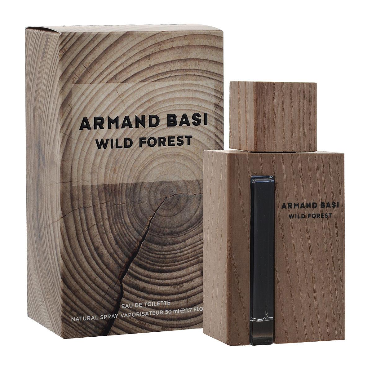 Armand Basi Туалетная вода Wild Forest, мужская, 50 мл48574Wild Forest - новый мужской аромат от Armand Basi, созданный благодаря вдохновению от самого благородного элемента: дерева. Природа прекрасна и непредсказуема. Она несет в себе жизнь. И дерево лучшее доказательство этого ее качества. Мужчина Armand Basi обладает естественной элегантностью, которая проявляется через его отношения с природой. Он прекрасно знает, что все природное безупречно по определению и видит воплощение этой природной, натуральной и несовершенной красоты в дереве.В мире стрессов Wild Forest - его островок, место, где мужчина может обрести себя и освободить свою настоящую, дикую сторону личности. Это может быть лес, это может быть комната, но в первую очередь это место находится в его сознании. Личный теплый, персональный оазис.Неправильная форма дерева, рисунок его внутренних колец, проявляющийся с годами, цвет, вызванный воздействием света, текстура, меняющаяся под воздействием климатических условий, трещины на его поверхности, - все это вместе создает характер благородного материала, также как жизнь дает спонтанный характер молодым людям, и спокойный - пожилым. Wild Forest создан для мужчины без возраста, который, как и дерево, извлекает лучшее из каждой стадии своего взросления.Древесина - материал многогранный и пластичный, легко адаптируемый к современной жизни в большом городе и используемый ежедневно и повсеместно. Таким образом, превращенная в современный объект, она являет собой связь между городом и природой. Древесина, благодаря своему благородному происхождению, объединяет традиции и качество. Это теплый и современный материал, элегантный, прекрасный и вечный. Armand Basi Wild Forest - это одновременно классический, и современный Аромат, такой же, как и мода от Armand Basi. Аромат, который переносит Вас из города в лес.От природы до шума большого города. Сила и мощь благородного дерева - праздник несовершенной красоты Природы и аутентичности всего естественного.Элегантный и сде