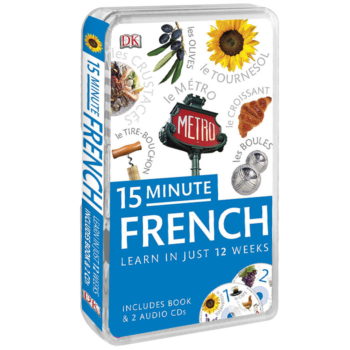 15-Minute French (+ аудиокурс на 2 CD) easy learning speak french with cdx2