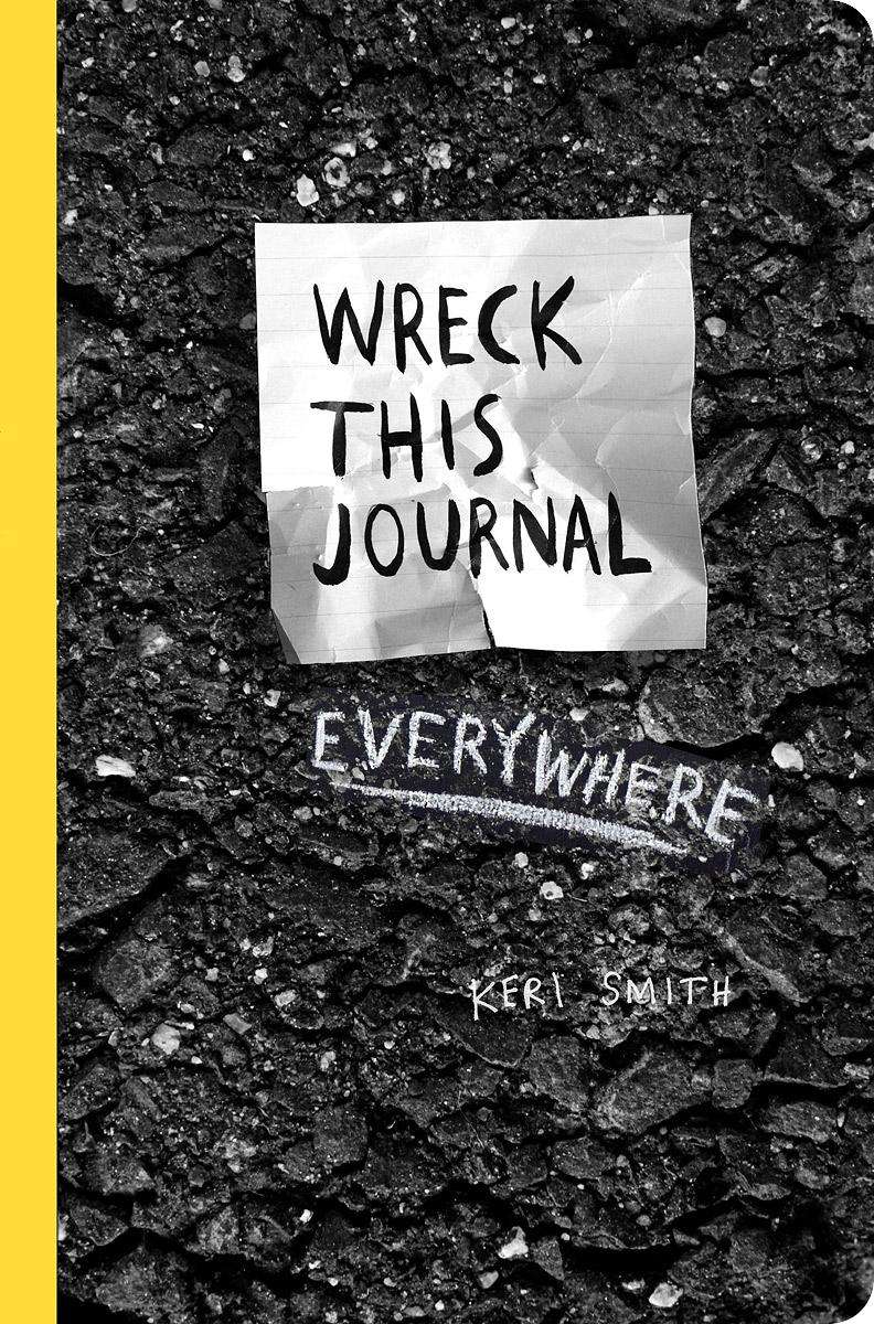 Фото Wreck This Journal Everywhere