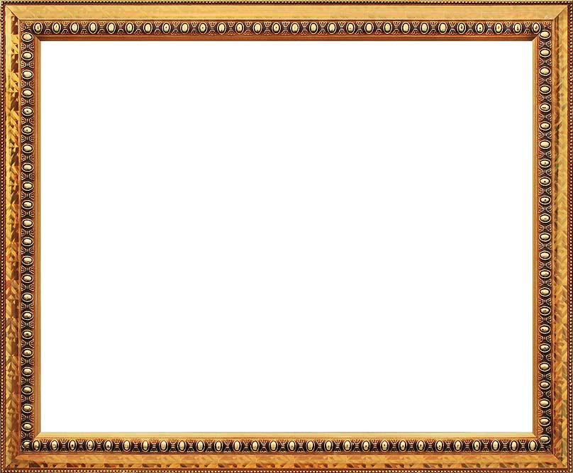 Рама багетная Elena, цвет: золотой, 40 х 50 см рама багетная белоснежка regina цвет черный серебряный 40 х 50 см