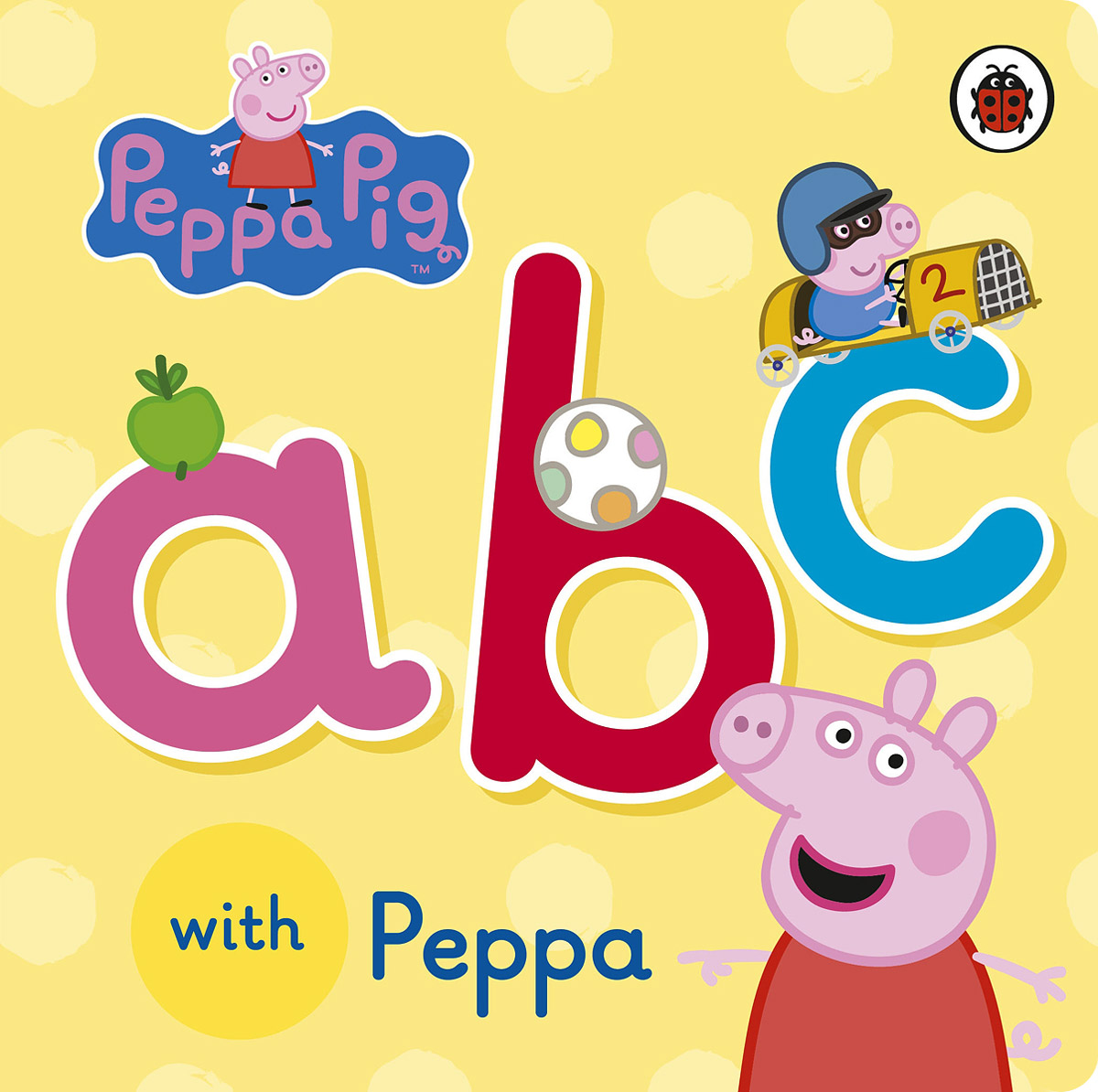 ABC with Peppa peppa pig 1000 first words sticker book