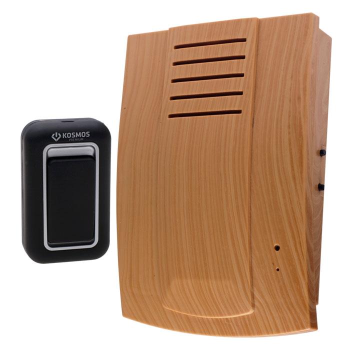 Беспроводной звонок Kosmos Premium. KOC_690KOC_690Беспроводной звонок Kosmos Premium - это современное многофункциональное устройство вызова. Он может применяться как дверной звонок в квартире, на даче, в коттедже или как индивидуальное устройство вызова. Беспроводной звонок защищен помехоустойчивой системой, что позволяет предотвратить ложные звонки и исключить влияние других беспроводных звонков друг на друга. Особенности беспроводного звонка Kosmos Premium: 3-х позиционная регулировка громкости, 25 полифонических мелодий, 4-х тональная полифония нового уровня, Технология CFC (система изменения частотных каналов) исключает одновременное срабатывание нескольких звонков, Высокомощный динамик 1W (в 5 раз мощнее стандартного динамика), Беспроводной сигнал на расстоянии 100 метров.Необходимо докупить 3 батарейки типа АА. В комплект не входят.