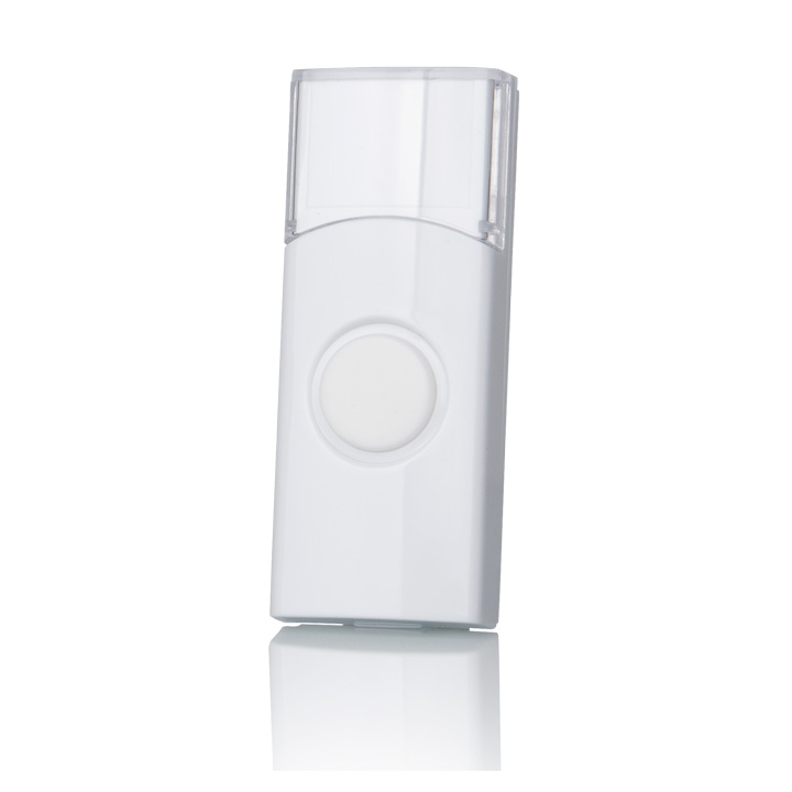 Кнопка для беспроводного звонка Elektrostandard  DBB01WL, цвет: белый - Звонки