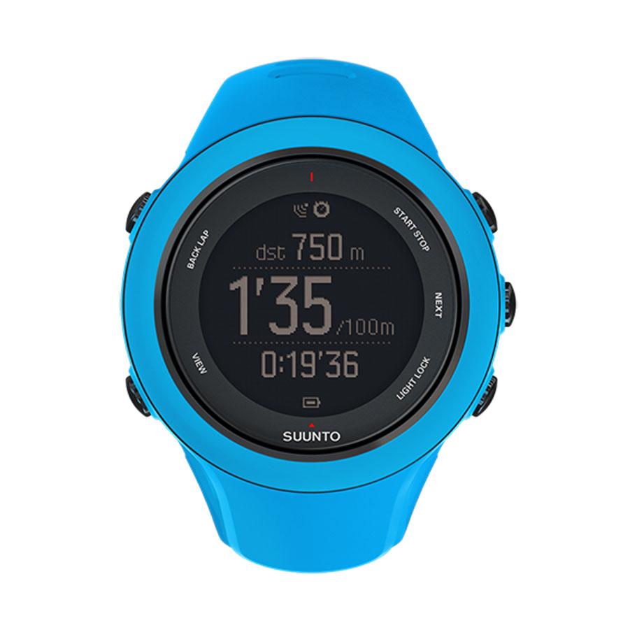 Часы спортивные Suunto Ambit3 Sport, цвет: голубойSS020682000Каждому хочется покорять новые вершины скорости. Полностью выкладываясь на беговом маршруте, на велосипеде или в воде, положитесь на GPS часы Suunto Ambit3 Sport. Они станут вашим бесценным инструментом тренировок, который поможет достичь максимальной спортивной формы. Отслеживайте и анализируйте свои результаты, чтобы прогрессировать. Воспользуйтесь беспроводным подключением часов к iPhone и бесплатным приложением Suunto Movescount App, чтобы изменять настройки часов на ходу, а также работать с собранными данными. Дополняйте, переживайте заново и делитесь опытом — заставьте работать каждый свой Move!Основные функции:Перемещение по маршруту.Время работы от батареи — до 25 часов с включенным модулем GPS.Компас.Высота по данным GPS.Измерение частоты сердцебиения при плавании.Расчет времени восстановления в зависимости от вида деятельности.Измерение скорости, темпа и расстояния.Расчет мощности при езде на велосипеде (технология Bluetooth Smart).Запись нескольких видов спорта в один журнал.Программы тренировок.Расширение функций за счет приложений Suunto App.