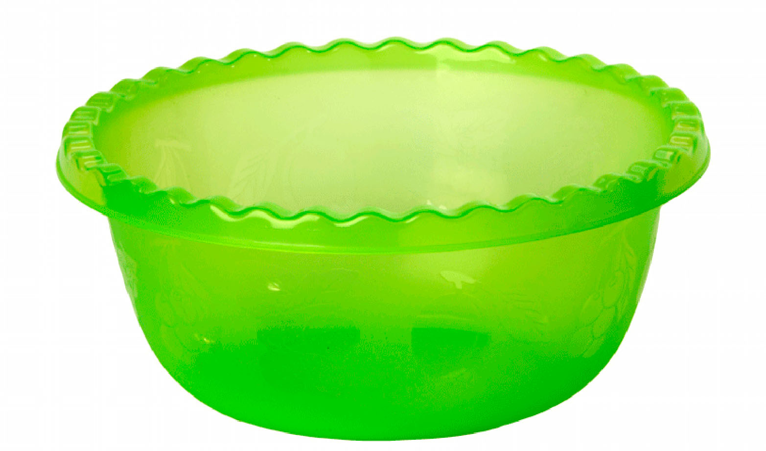 Миска Idea, цвет: салатовый, 1,8 лМ 1311Вместительная миска Idea изготовлена из высококачественного пищевого полипропилена. Изделие очень функциональное, оно пригодится на кухне для самых разнообразных нужд: в качестве салатника, миски, тарелки. По периметру миска украшена узором в виде фруктов.