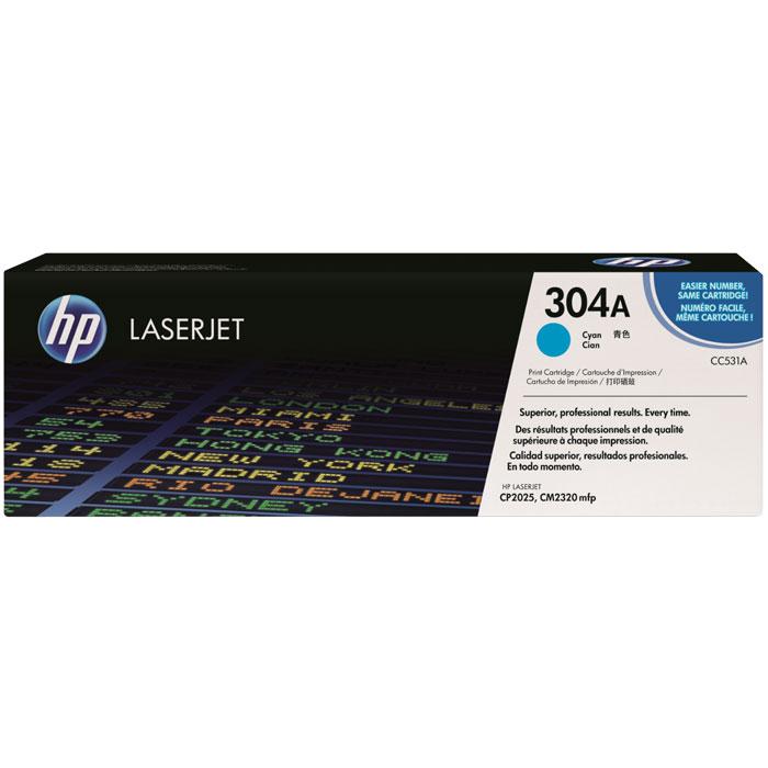 HP CC531A, Cyan лазерный картридж чернильный картридж hp c9398a cyan